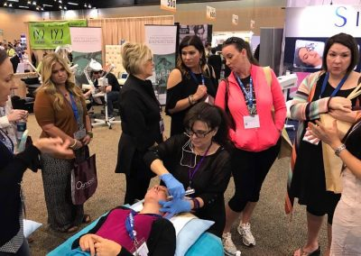 Rezenerate NanoFacial Demonstration by Sheri Flasch of The Esthetician Connection