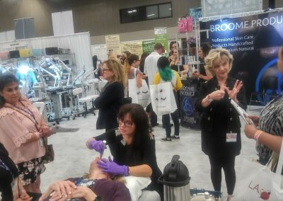 Rezenerate NanoFacial Demonstration performed by Sheri Flasch of The Esthetician Connection