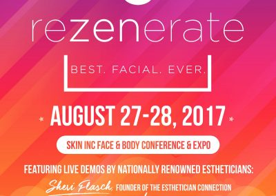 Rezenerate NanoFacial at Face & Body Northern California 2017