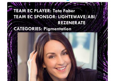 Team EC Player Tata Faber, cosponsored by Rezenerate