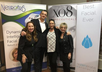 Presenter Stacy Wall LE, Ryan Rabah Rezenerate, Rose Laudisio XO8 & Presenter Pam Smith LE