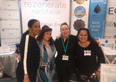 Rez team at booth